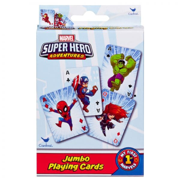 Marvel Super Hero Jumbo Playing Cards