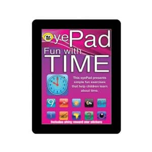 Eye Pad Fun with Time Activity Book