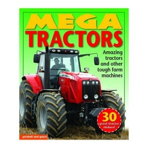 Mega Tractors with 30 Stickers