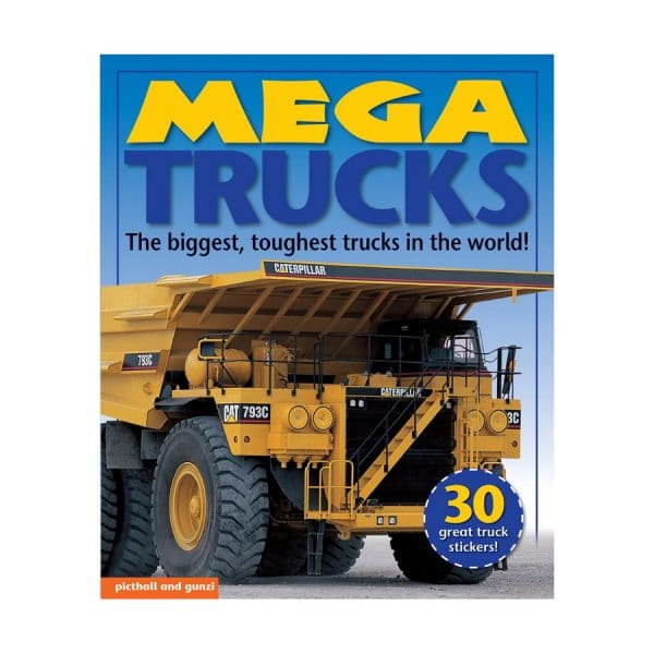 Mega Trucks with 30 Stickers