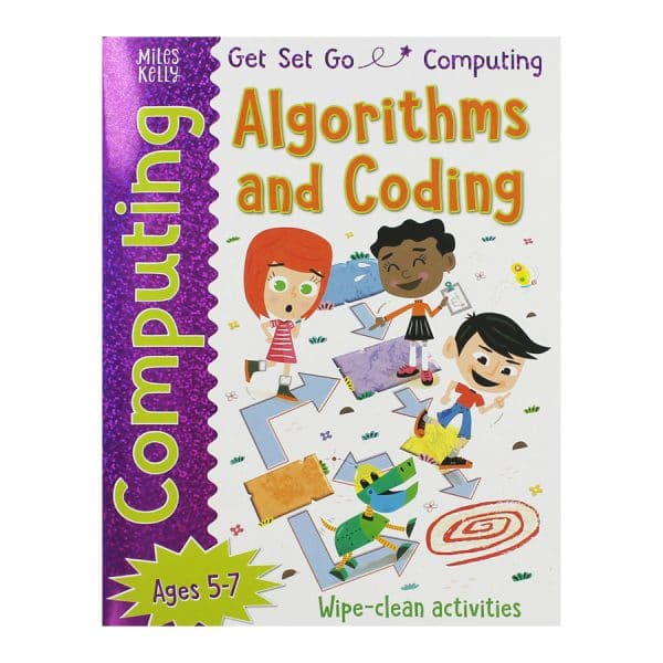 Algorithms and Coding Wipe Clean Activity Book