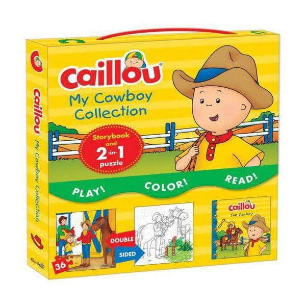 Cowboy Collection Caillou 2in1 Puzzle