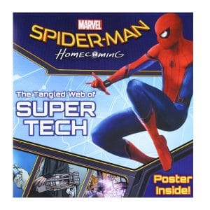 Marvel Spiderman The Tangled Web of Super Tech Spiderman