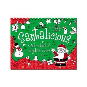 Santalicious A Festive Feast Of Delightful Doodles