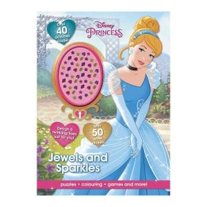 Disney Princess Jewels and Sparkles Activity Book