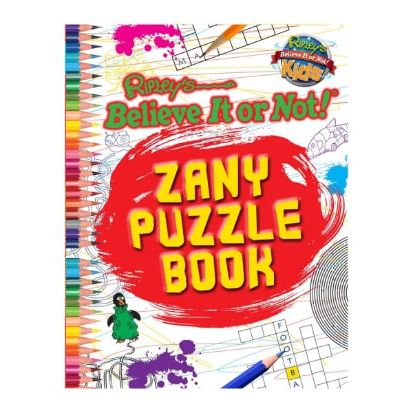 Ripley's Zany Puzzle Book