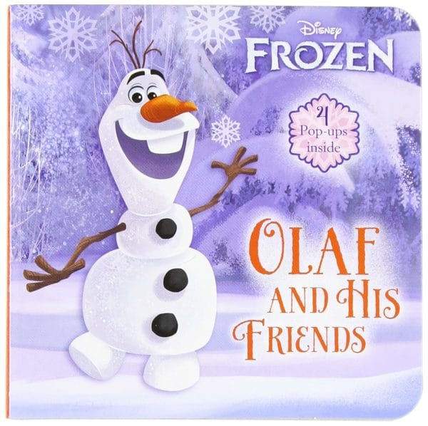 Frozen Olaf and His Friends Book