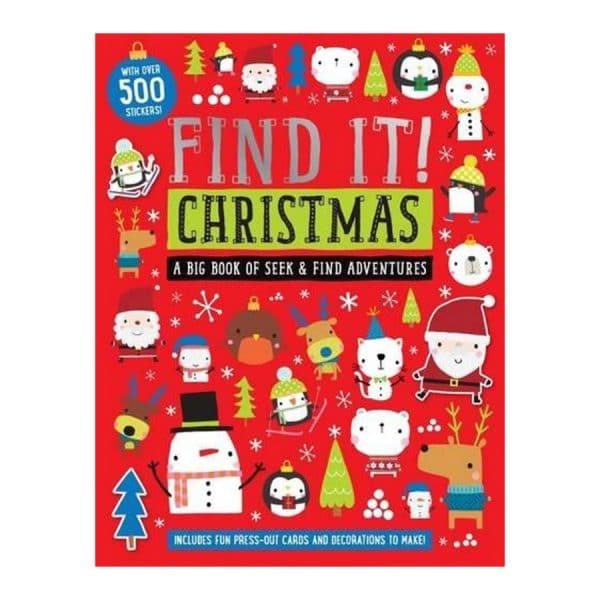 Find It Christmas with over 500 Stickers