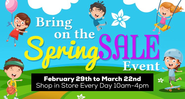 Spring Toy Sale 2020