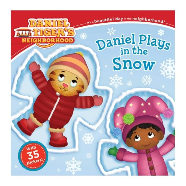 Daniel Plays in the Snow