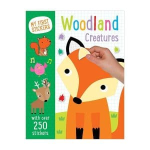 Woodland Creatures with over 250 Stickers