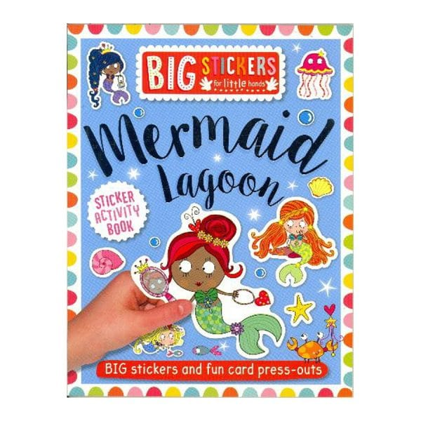 Mermaid Lagoon Sticker Activity Book