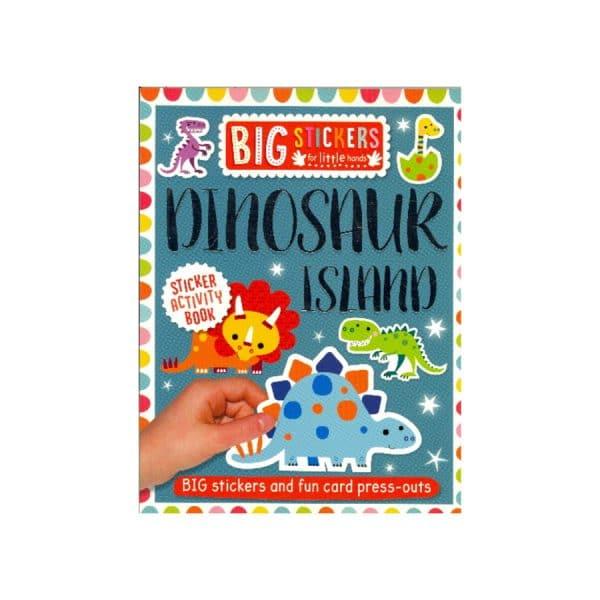 Dinosaur Island Sticker Activity Book
