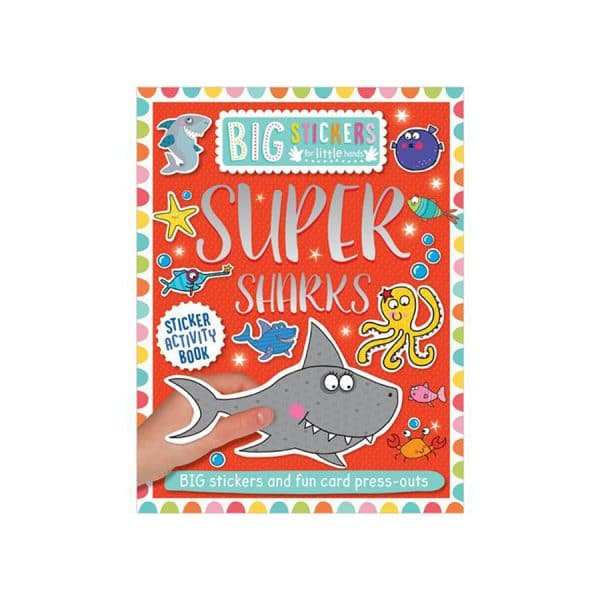 Super Sharks Sticker Activity Book