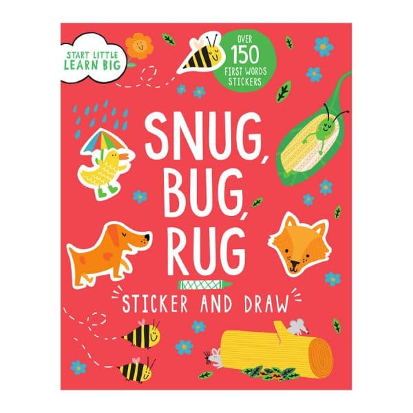 Snug Bug Rug Sticker and Draw