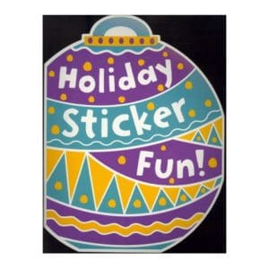 Holiday Sticker Fun