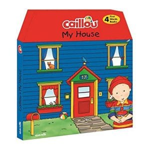 My House Caillou 4pcs Set
