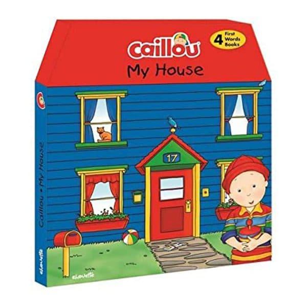My House Caillou 4pcs Set