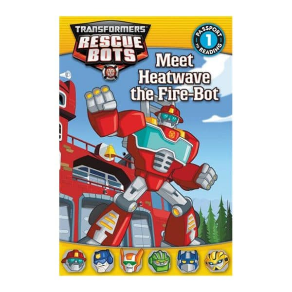 Rescue Bots Meet Heatwave the Fire Bot Level 1
