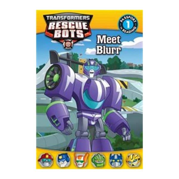 Rescue Bots Meet Blurr Level 1