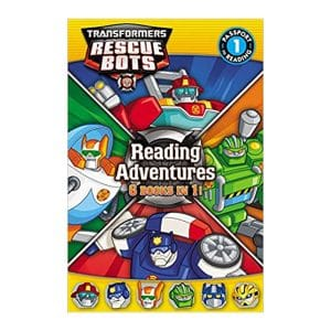 Reading Adventures 6in1 Transformers Rescue Bots Level 1