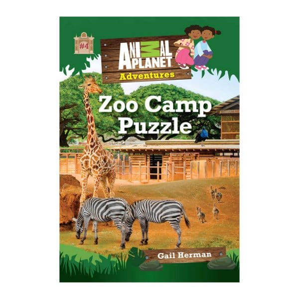 Zoo Camp Puzzle Book 4 Animal Planet