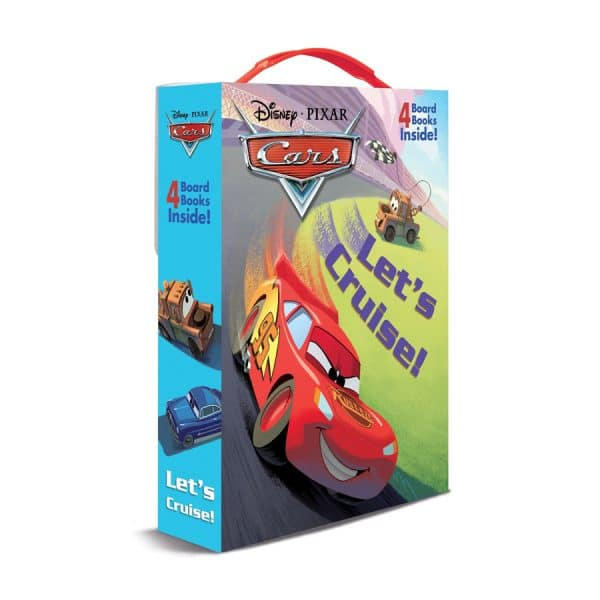 Disney Cars Let's Cruise 4 Book Set