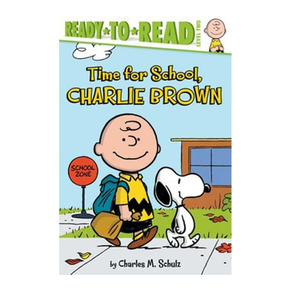 Time for School, Charlie Brown Level 2