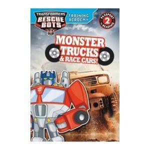 Monster Trucks & Race Cars - Rescue Bots Level 2