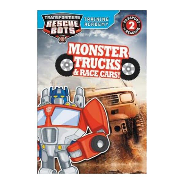 Monster Trucks & Race Cars - Rescue Bots Level 2