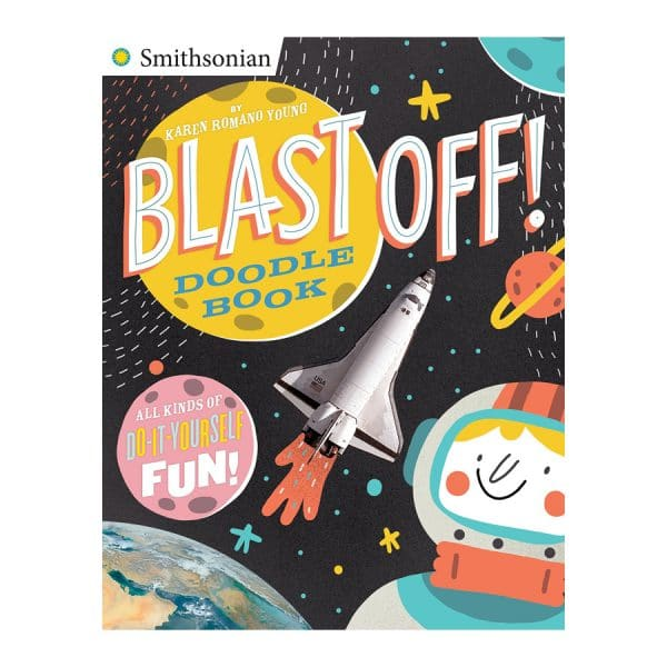 Blast Off Doodle Book