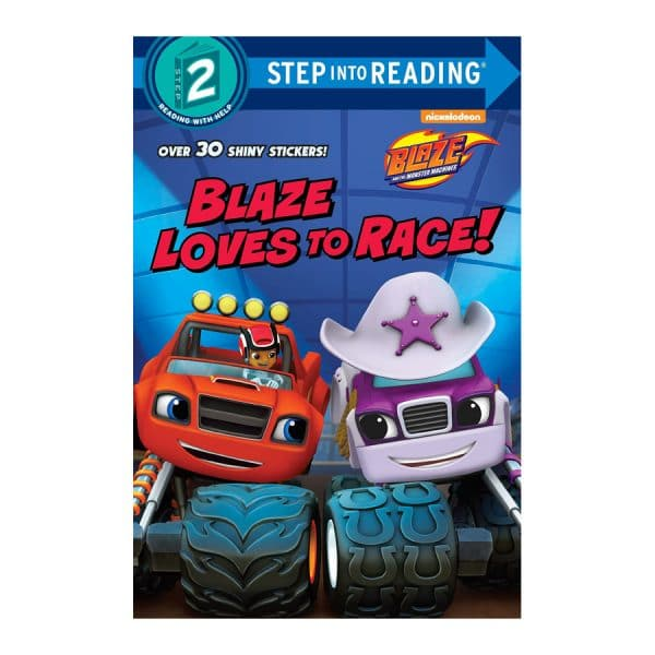 Blaze Loves to Race Level 2