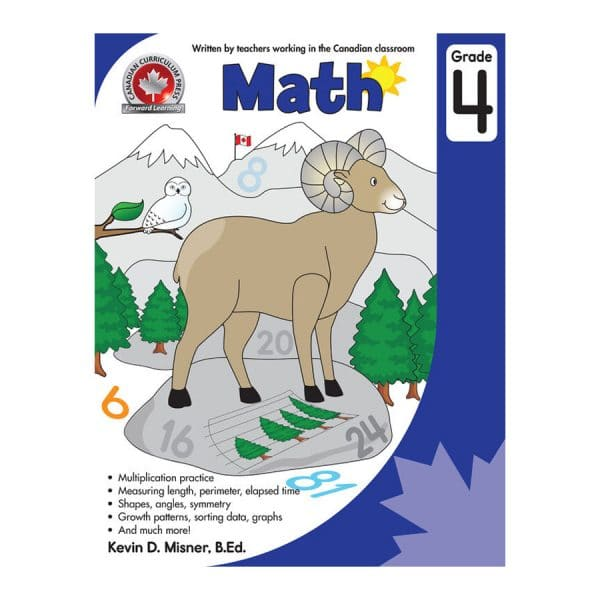 Math Grade 4 - Canadian Curriculum Press Forward Learning