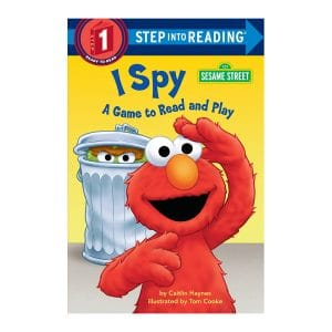 I Spy, A Game to Read and Play - Sesame Street Level 1