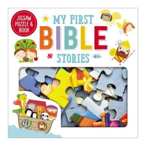 My First Bible Stories Jigsaw Puzzle and Book