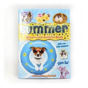 Summer Sticker Activity Book