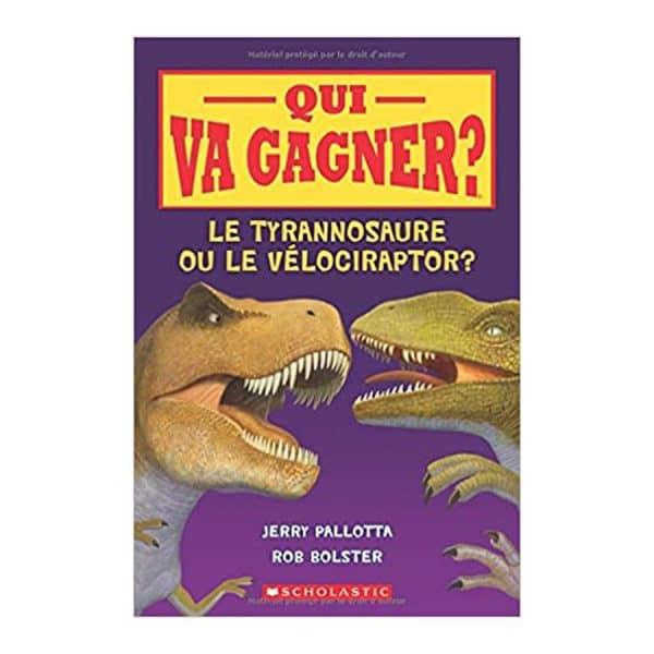 le tyrannosaure ou le velociraptor?