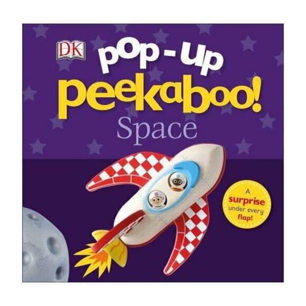 Peekaboo Space Pop-Up Book