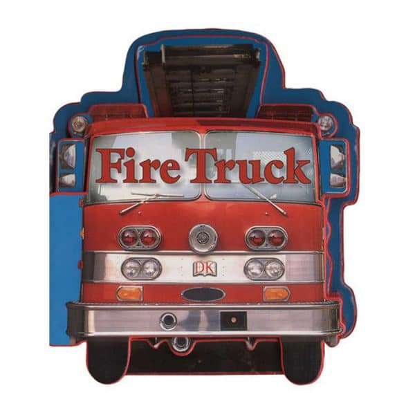 Fire Truck Shaped Board Book