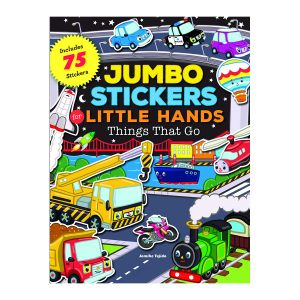 Jumbo Stickers Little Hands Things That Go
