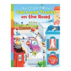 Cars and Trucks on the Road: My First Search & Find Board book