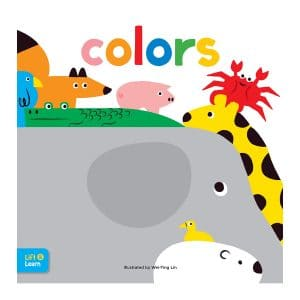 Colors Lift & Learn: Interactive flaps reveal basic concepts for toddlers Board book