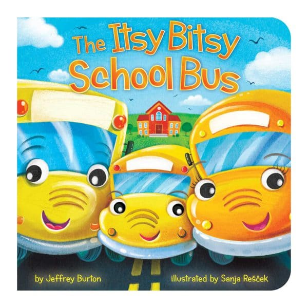 The Itsy Bitsy School Bus Board book