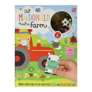 Old MacDonald Had A Farm Book & Play Mat