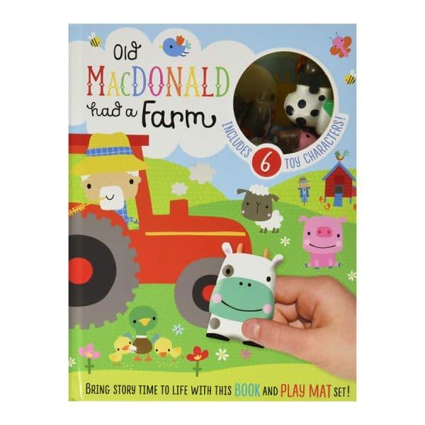 Old MacDonald Had A Farm Book & Play Mat