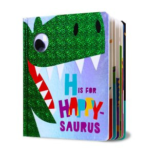 H Is for Happy-Saurus Board book