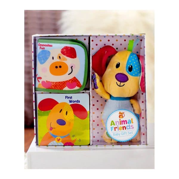 Animal Friends Baby Gift Set