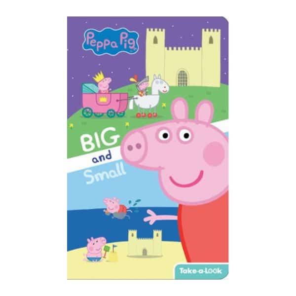 Peppa Pig - Big and Small Take-a-Look Board Book - Look and Find