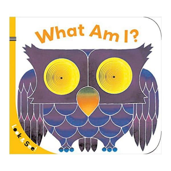 Look & See: What Am I? Board book