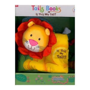 Fun Tails: Lion (Deluxe Children's Cloth Book)